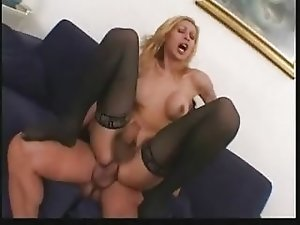 LEOPORNO Italian Shemale Girl Fucking On Sofa PART2