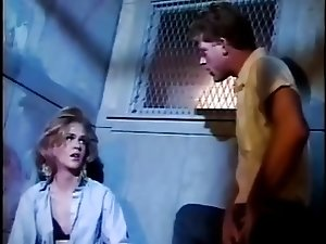 Vintage cute  TV whore sucks cock in the cell